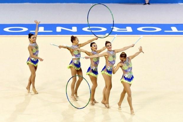 Ginástica rítmica conquista centésima medalha do Brasil no Pan Brasil se despede do torneio com cinco pódios