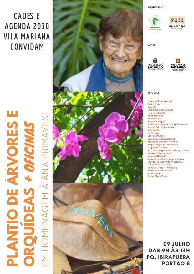 Plantio de orquídeas e homenagem A.Primavesi 9-7 Domingo[4996]